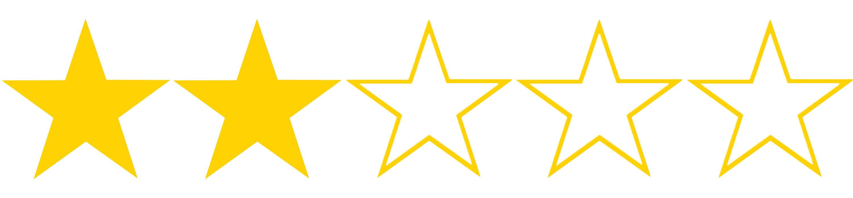 1986 - Peliculas a competición - Página 2 Two-star-rating